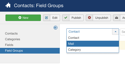 Adding extra fields to the Joomla contact form  1
